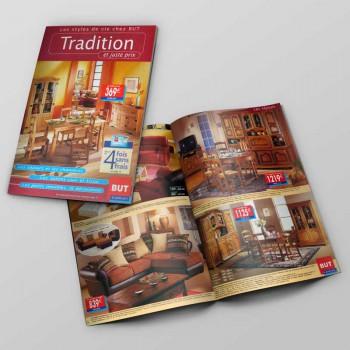 Création Brochure 24 Pages Meubles But