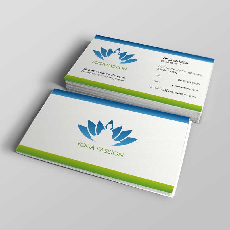 Top Création de cartes de visite et plaquette - Graphiste indépendant NH68