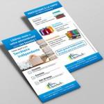 Création Flyer Secrétaire indépendante – Adom Assistante