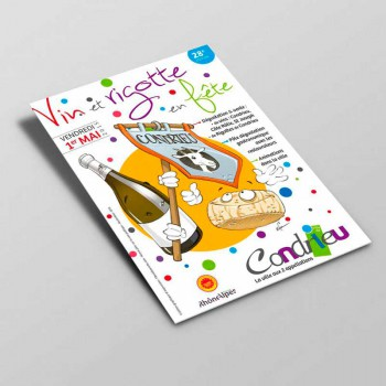 Création Flyer pour la Mairie de Condrieu