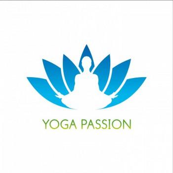 Création de Logo Yoga Passion - Cours de Yoga