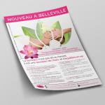 Création Flyer - Alexandra Julien - Auteur Thérapeuthe Reiki