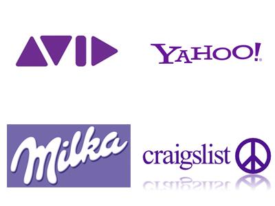 Logo Violet - Comment choisir la couleur de votre logo