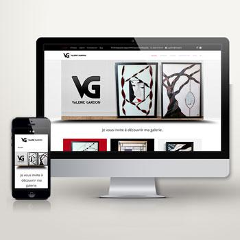 Création Site Internet Valérie Gardon - Studio Karma - Graphiste