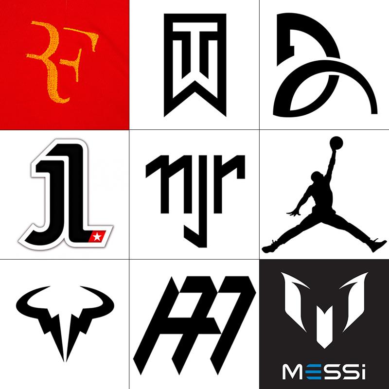 Logo Sportifs célèbres- Article Studio Karma - Graphiste Freelance