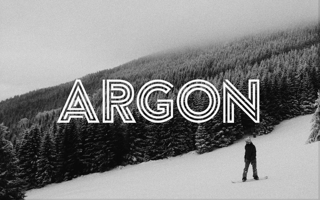 Typo Gratuite Argon - Free Font - Studio Karma