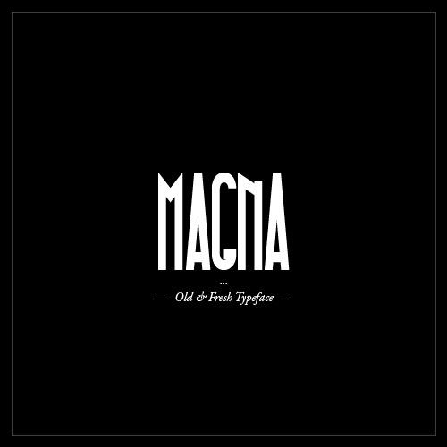 Typo Gratuite MAGNA - Free Font - Studio Karma - 1