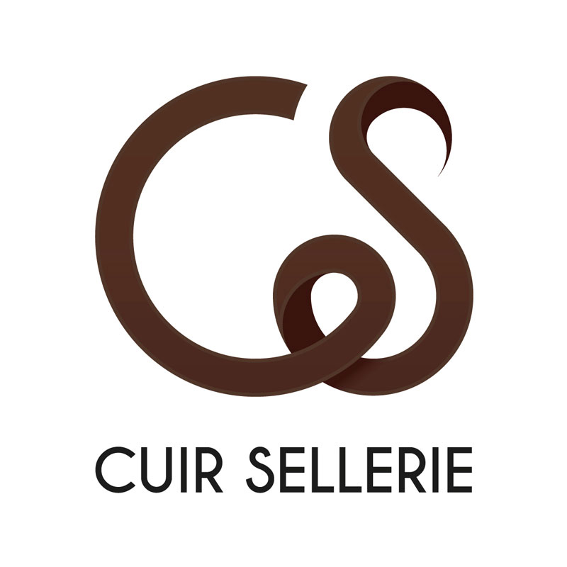 Creation Logo CS Cuir Sellerie - Equipements chevaux chiens