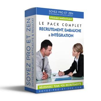 Creation Packaging Boite Recrutement Embauche - Soyez-Pro-et-Zen - Coaching Entreprise