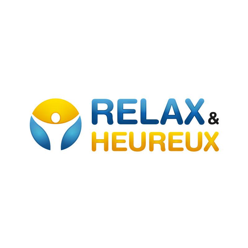 Création Logo Relax et Heureux