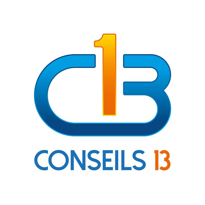 Création Logo Conseils 13 - GESTION PERSONNEL et PAIE - AUDITS ORGANISATIONS ENTREPRISE - Studio Karma - Graphiste