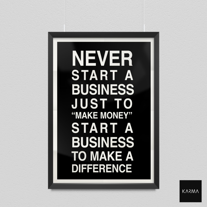 Studio Karma - Poster Quote Business