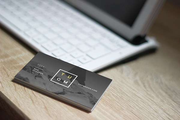 Carte De Visite Gratuit Free Mockup Business Card By Tomasz Mazurczak
