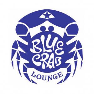 Logo Blue Crab Lounge par John Sayles | Studio Karma I ...