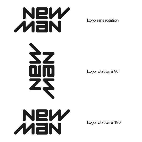 Logo New Man Rotation - Article Studio Karma - Graphiste Freelance - Formation