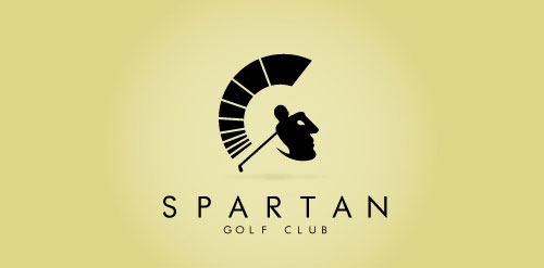 Logo Spartan Golf Club By Richard Fonteneau