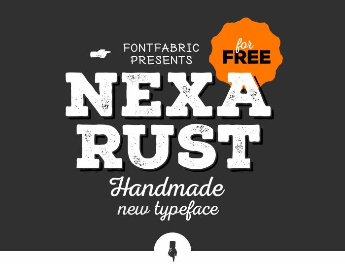 Nexa Rust Free by Fontfabric-Radomir Tinkov
