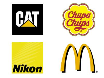 Logo Jaune - Comment choisir la couleur de votre logo