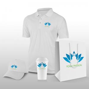 Création Logo personnalisé Yoga #003 - Objets Publicitaires