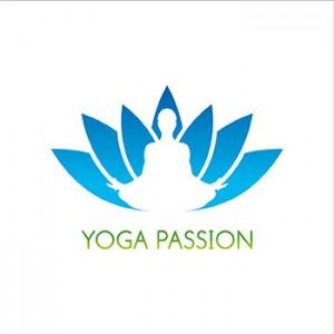 Création Logo Yoga Passion Cours de Yoga par Studio Karma - Graphiste Freelance Formation Lyon Ain Rhone Alpes