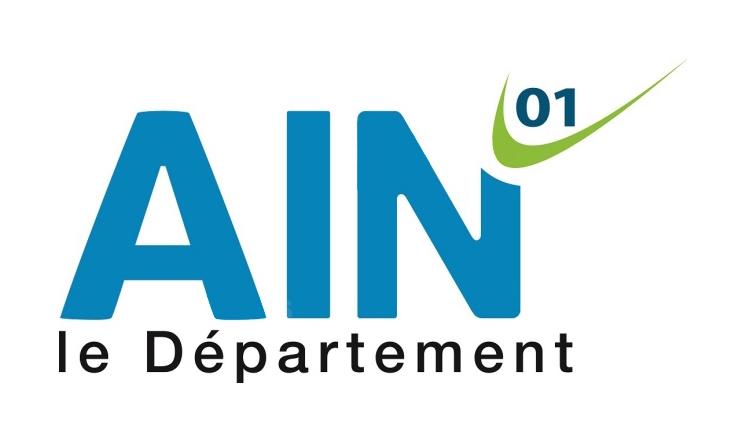 Nouveau Logo Département de L'Ain - Studio Karma - Graphiste Freelance