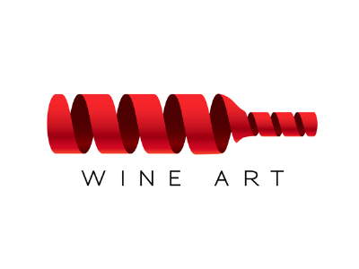 Inspiration Logo Vin - Studio Karma - Graphiste Freelance - Wine Art by Ruslan Gordienko