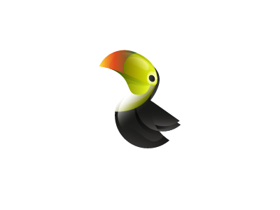 Logo Toucan mark by Ivan Bobrov