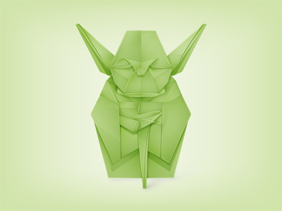 Origami Yoda by Y. Perdana - Article Studio Karma - Graphiste Freelance