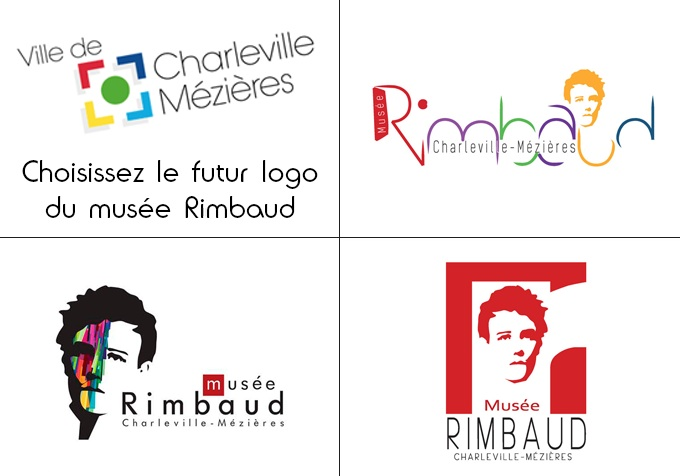 Image Une Vote Logo Musée Rimbaud Présentation Logo - Studio Karma - Graphiste Freelance