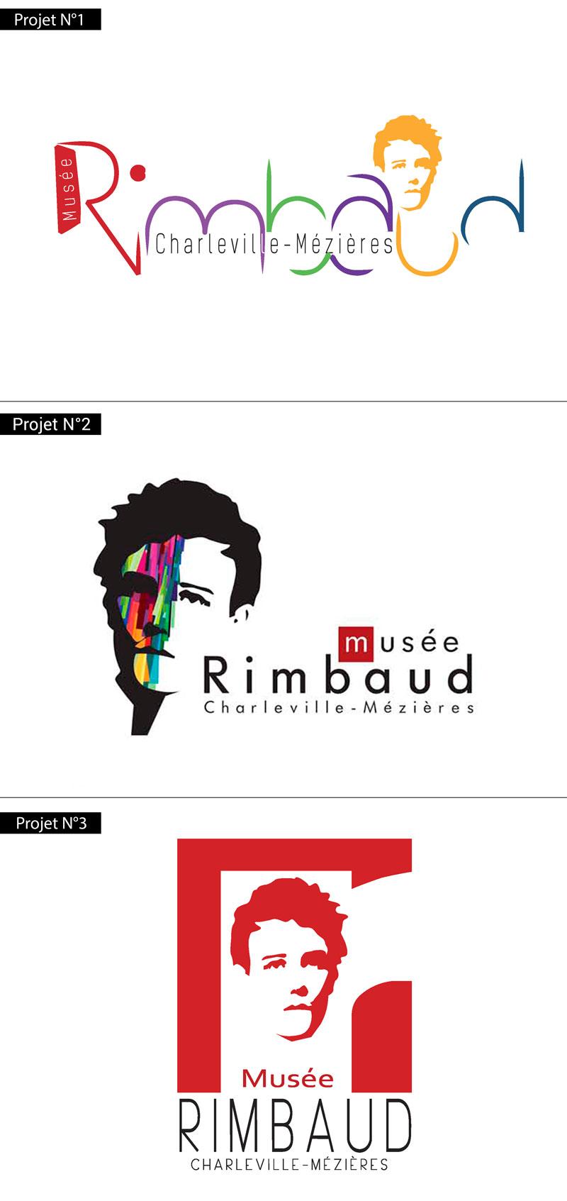 Vote Logo Musée Rimbaud Présentation Logo - Studio Karma - Graphiste Freelance