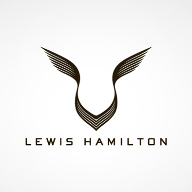 Logo pilote automobile britannique lewis Hamilton - Article Studio Karma - Graphiste Freelance