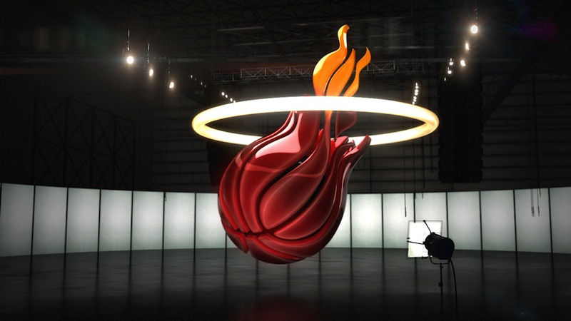 NBA Basketball Création des logos en 3D - Article Studio Karma - Graphiste Freelance