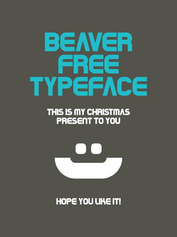 Typo Gratuite Beaver par Rui Rodrigues - Article Typo Studio Karma - Graphiste Freelance