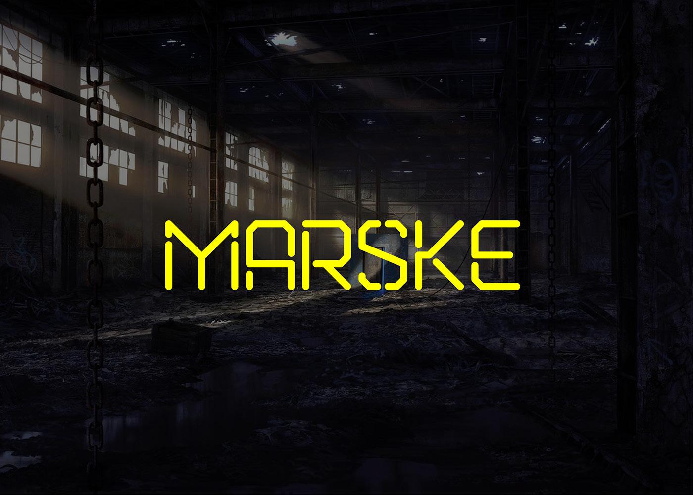 Marske | Police de caractère Gratuite | Free Font