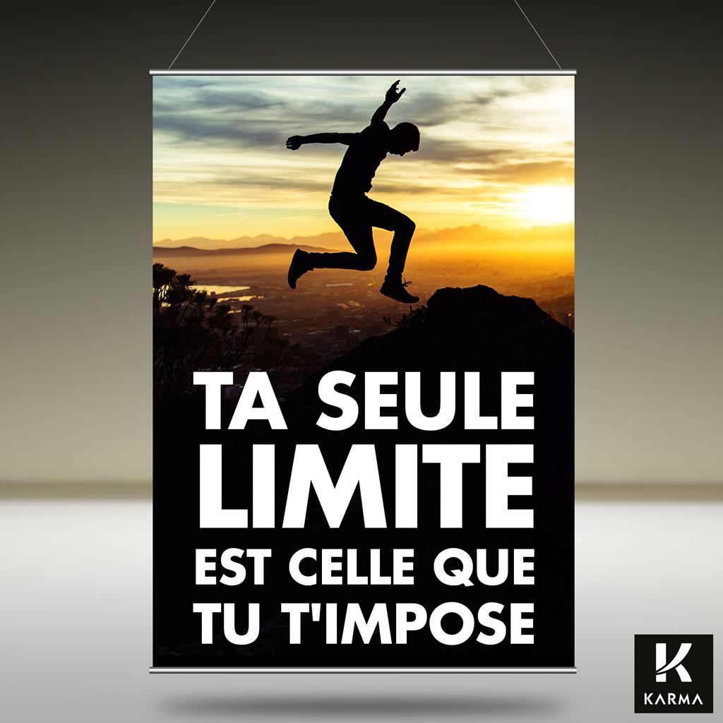 Ta Seule Limite est Celle que Tu T'impose