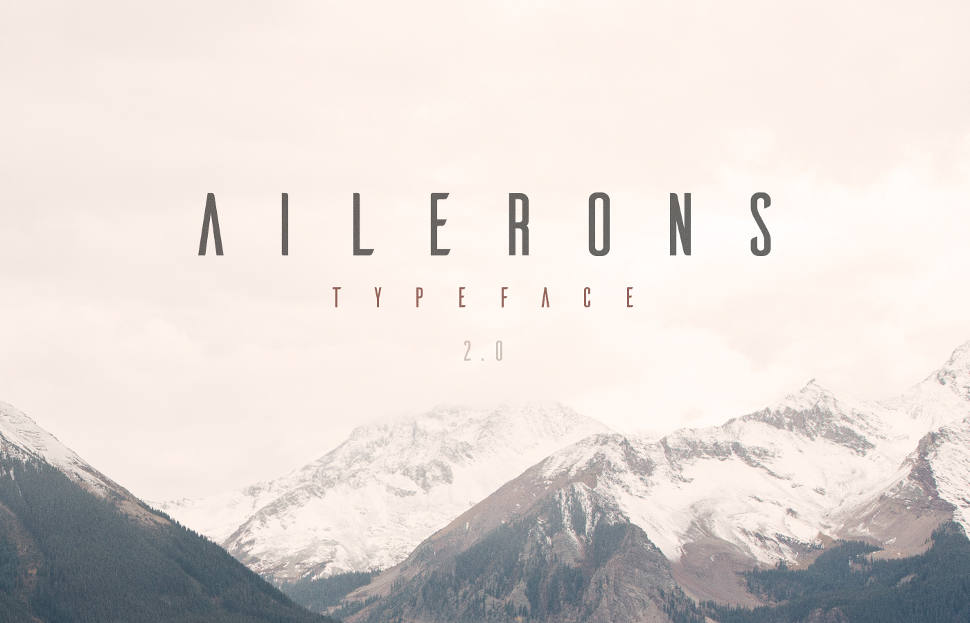 Typo Gratuite Ailerons | Free Font | Studio Karma