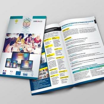 Creation Brochure 2 Volets - Up and Space Martinique