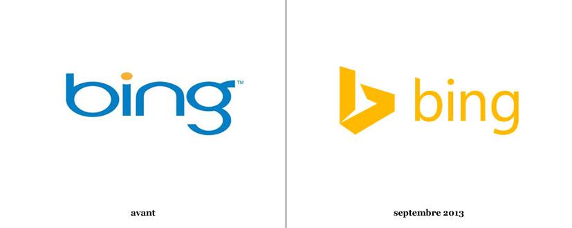 Nouveau logo Bing - Ancien Logo BING - Studio Karma - Graphiste
