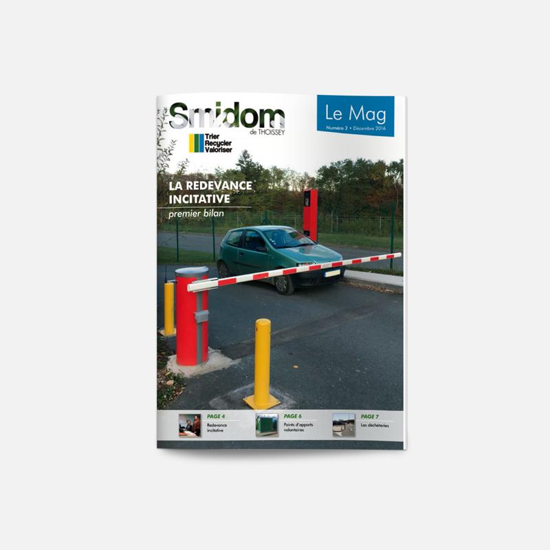 Creation Magazine Smidom Thoissey Page Couverture - Studio Karma - Graphiste