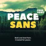 Typo Gratuite Peace Sans | Free Font | Studio Karma