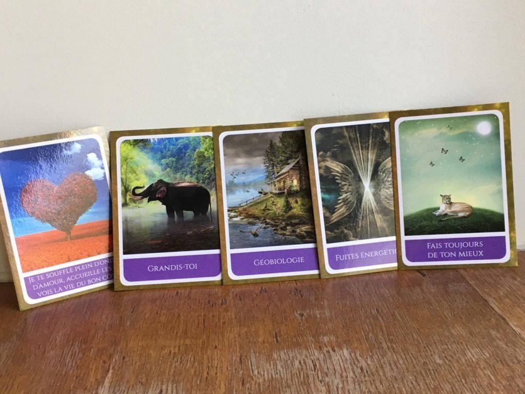 Création de jeu de cartes de soins énergétiques - Macala - 3