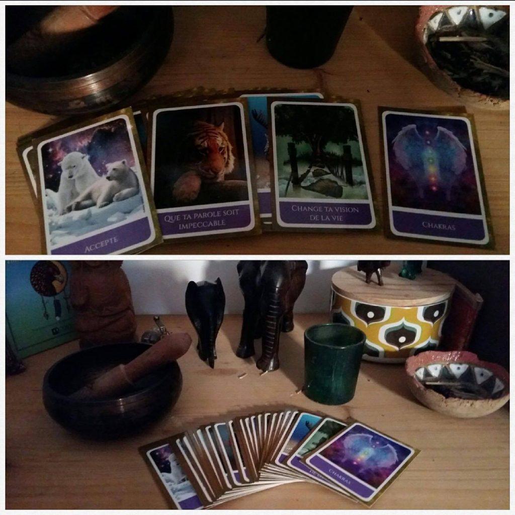 Création de jeu de cartes de soins énergétiques - Macala - 8