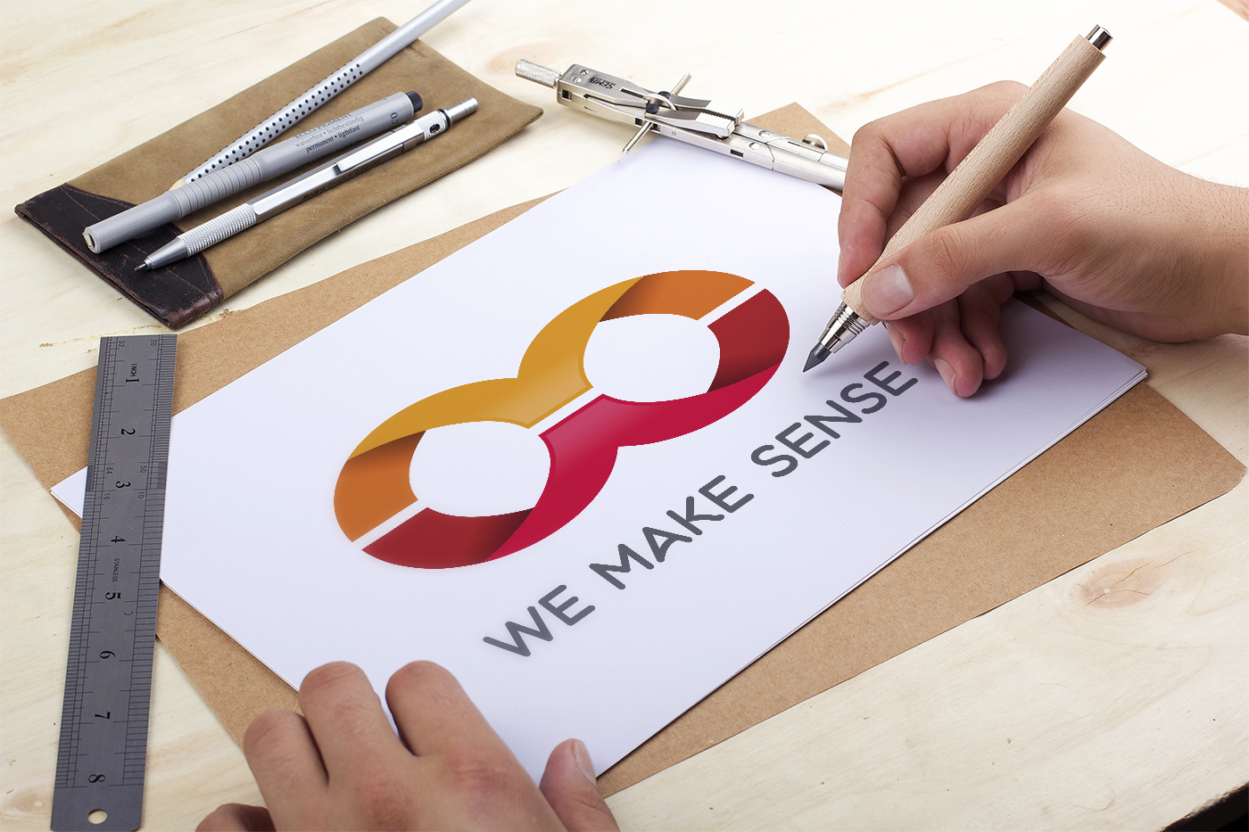 Presentation Creation Logo We Make Sense - Accompagnement individuel collectif Coaching
