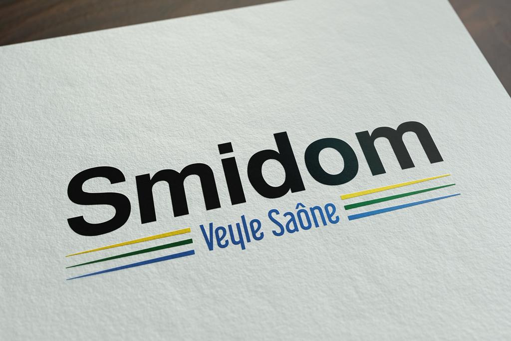 Présentation Creation graphique Logo Smidom Veyle Saone - Thoissey - Studio Karma - 1