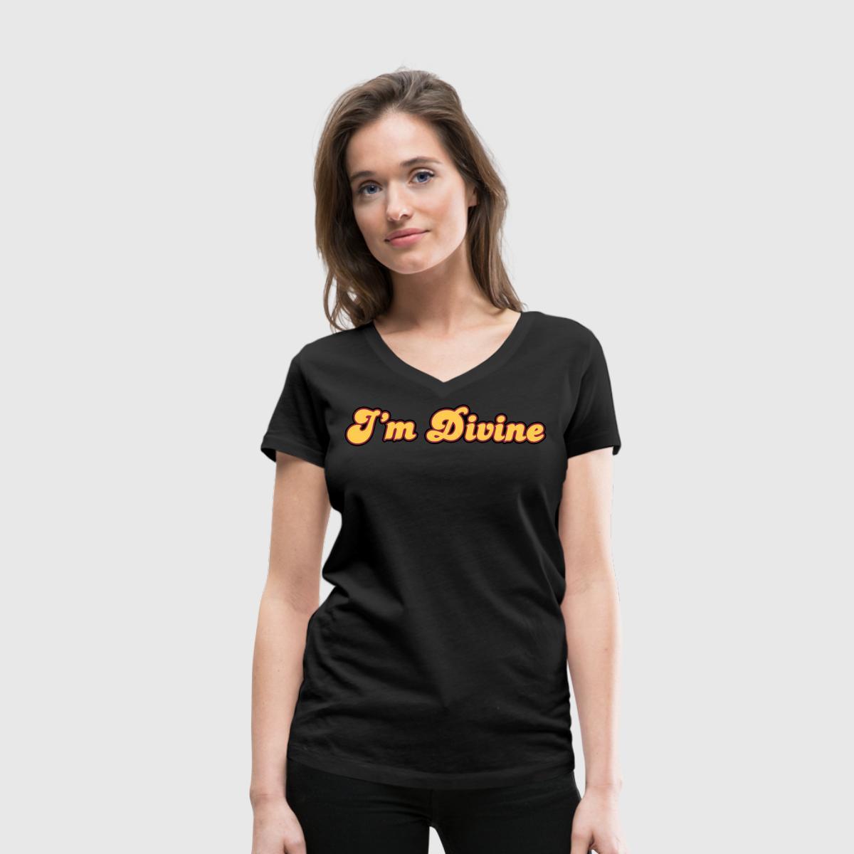 Tshirt femme Karma Fashion - I m Divine - T-shirt Premium