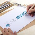 Creation Logo et Flyer Juliassist Secrétaire indépendante