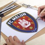 Creation Logo FC MELUN - Club Football Melun