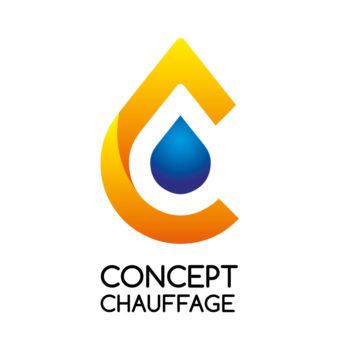 logo chauffage sanitaire Creation logo Concept Chauffage CHANEINS 01990 - Studio Karma - Graphiste Lille